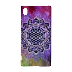 Flower Of Life Indian Ornaments Mandala Universe Sony Xperia Z3+ by EDDArt