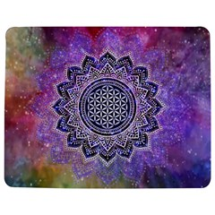 Flower Of Life Indian Ornaments Mandala Universe Jigsaw Puzzle Photo Stand (rectangular) by EDDArt