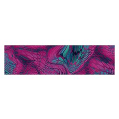 Asia Dragon Satin Scarf (oblong) by LetsDanceHaveFun