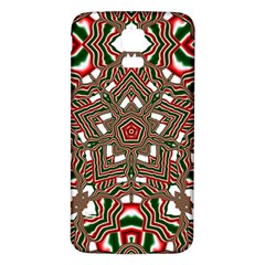 Christmas Kaleidoscope Samsung Galaxy S5 Back Case (White) by Zeze