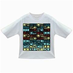 Block On Block, Aqua Infant/Toddler T-Shirts