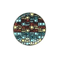 Block On Block, Aqua Hat Clip Ball Marker (10 pack)
