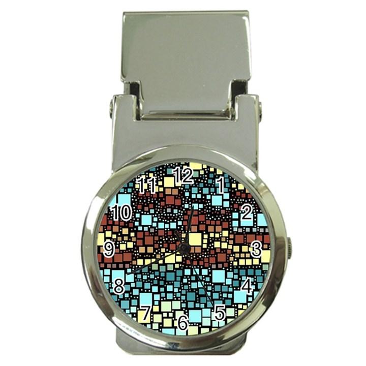 Block On Block, Aqua Money Clip Watches