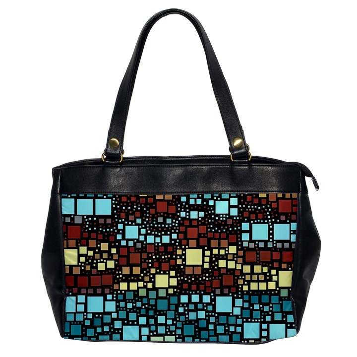Block On Block, Aqua Office Handbags