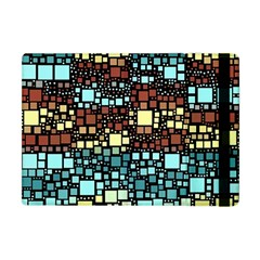 Block On Block, Aqua Apple Ipad Mini Flip Case by MoreColorsinLife