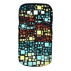 Block On Block, Aqua Samsung Galaxy S Iii Classic Hardshell Case (pc+silicone) by MoreColorsinLife