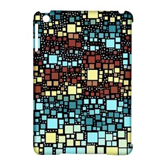 Block On Block, Aqua Apple Ipad Mini Hardshell Case (compatible With Smart Cover)
