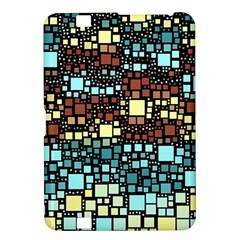 Block On Block, Aqua Kindle Fire Hd 8 9  by MoreColorsinLife