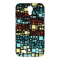Block On Block, Aqua Samsung Galaxy Mega 6 3  I9200 Hardshell Case