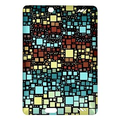 Block On Block, Aqua Amazon Kindle Fire Hd (2013) Hardshell Case by MoreColorsinLife