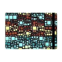 Block On Block, Aqua Ipad Mini 2 Flip Cases