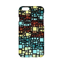 Block On Block, Aqua Apple Iphone 6/6s Hardshell Case by MoreColorsinLife