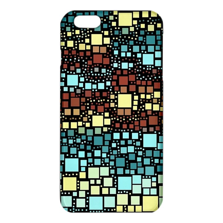 Block On Block, Aqua iPhone 6 Plus/6S Plus TPU Case