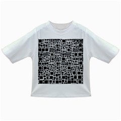 Block On Block, B&w Infant/toddler T Shirts by MoreColorsinLife