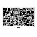Block On Block, B&w Business Card Holders Front