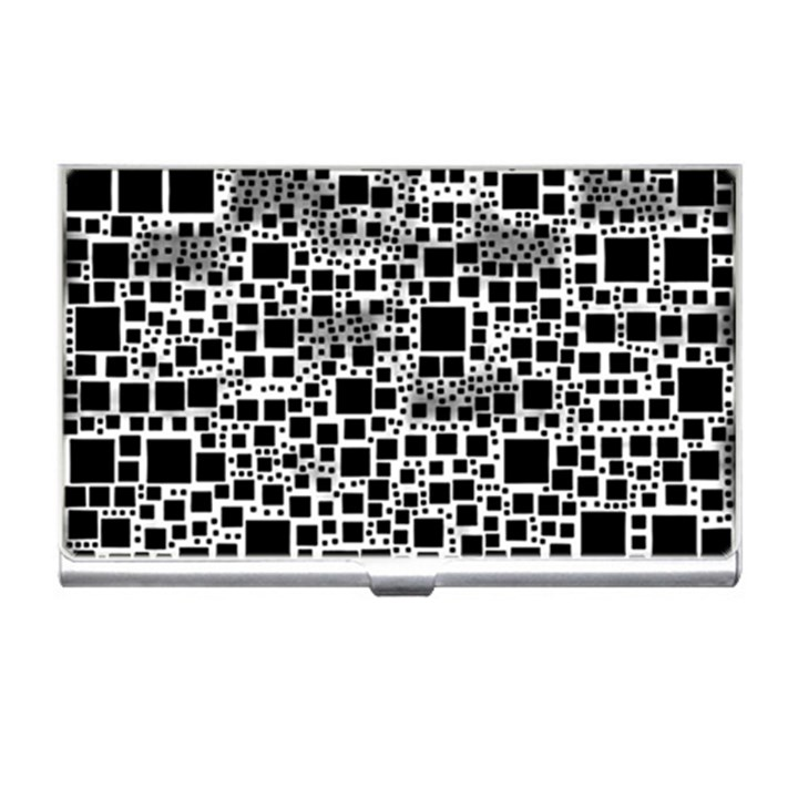 Block On Block, B&w Business Card Holders