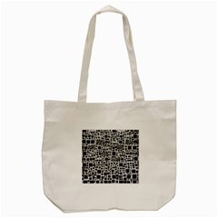 Block On Block, B&w Tote Bag (cream)