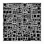 Block On Block, B&w Medium Glasses Cloth Front