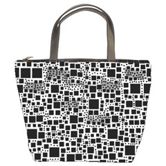 Block On Block, B&w Bucket Bags by MoreColorsinLife