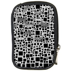 Block On Block, B&w Compact Camera Cases by MoreColorsinLife