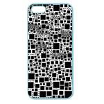 Block On Block, B&w Apple Seamless iPhone 5 Case (Color)