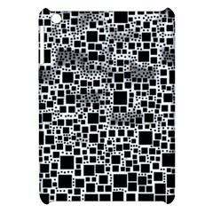 Block On Block, B&w Apple Ipad Mini Hardshell Case by MoreColorsinLife