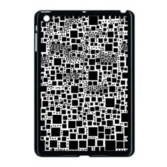 Block On Block, B&w Apple Ipad Mini Case (black) by MoreColorsinLife