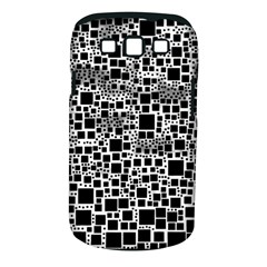 Block On Block, B&w Samsung Galaxy S Iii Classic Hardshell Case (pc+silicone) by MoreColorsinLife