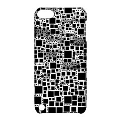 Block On Block, B&w Apple Ipod Touch 5 Hardshell Case With Stand by MoreColorsinLife