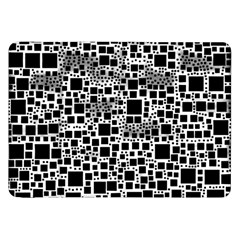Block On Block, B&w Samsung Galaxy Tab 8 9  P7300 Flip Case