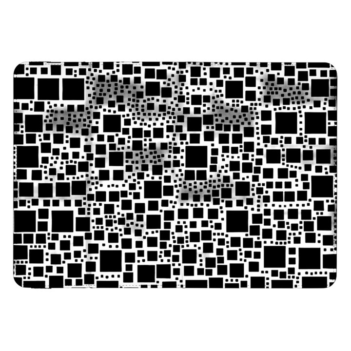 Block On Block, B&w Samsung Galaxy Tab 8.9  P7300 Flip Case