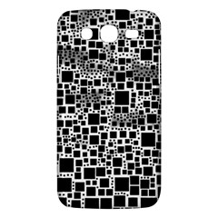 Block On Block, B&w Samsung Galaxy Mega 5 8 I9152 Hardshell Case