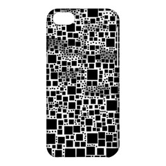 Block On Block, B&w Apple Iphone 5c Hardshell Case by MoreColorsinLife