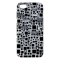 Block On Block, B&w Iphone 5s/ Se Premium Hardshell Case