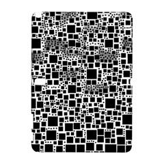 Block On Block, B&w Samsung Galaxy Note 10 1 (p600) Hardshell Case