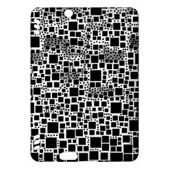 Block On Block, B&w Kindle Fire Hdx Hardshell Case by MoreColorsinLife