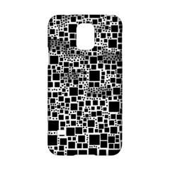 Block On Block, B&w Samsung Galaxy S5 Hardshell Case  by MoreColorsinLife