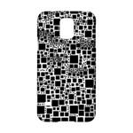 Block On Block, B&w Samsung Galaxy S5 Hardshell Case
