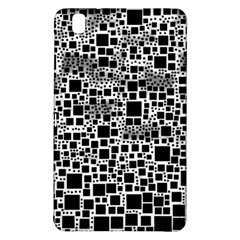 Block On Block, B&w Samsung Galaxy Tab Pro 8 4 Hardshell Case by MoreColorsinLife