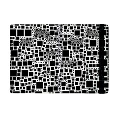 Block On Block, B&w Ipad Mini 2 Flip Cases by MoreColorsinLife