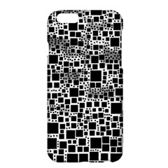 Block On Block, B&w Apple Iphone 6 Plus/6s Plus Hardshell Case by MoreColorsinLife
