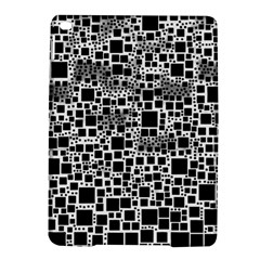 Block On Block, B&w Ipad Air 2 Hardshell Cases by MoreColorsinLife