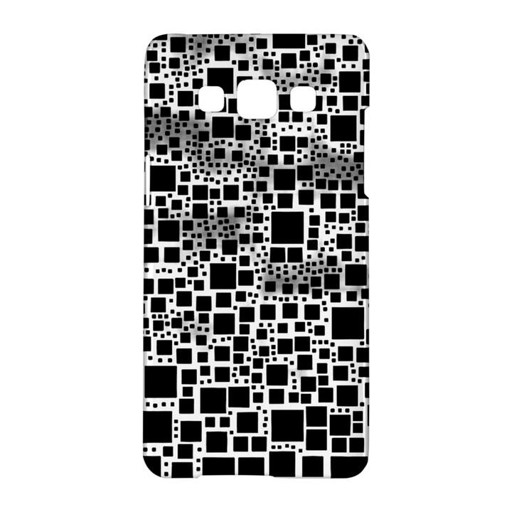 Block On Block, B&w Samsung Galaxy A5 Hardshell Case