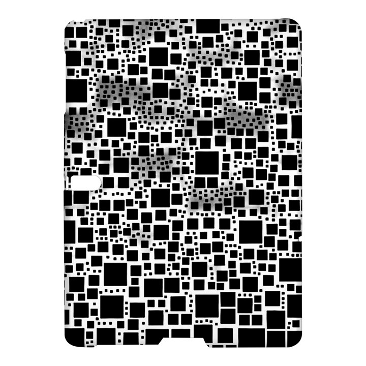 Block On Block, B&w Samsung Galaxy Tab S (10.5 ) Hardshell Case