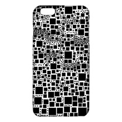 Block On Block, B&w Iphone 6 Plus/6s Plus Tpu Case by MoreColorsinLife
