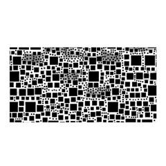 Block On Block, B&w Satin Wrap by MoreColorsinLife