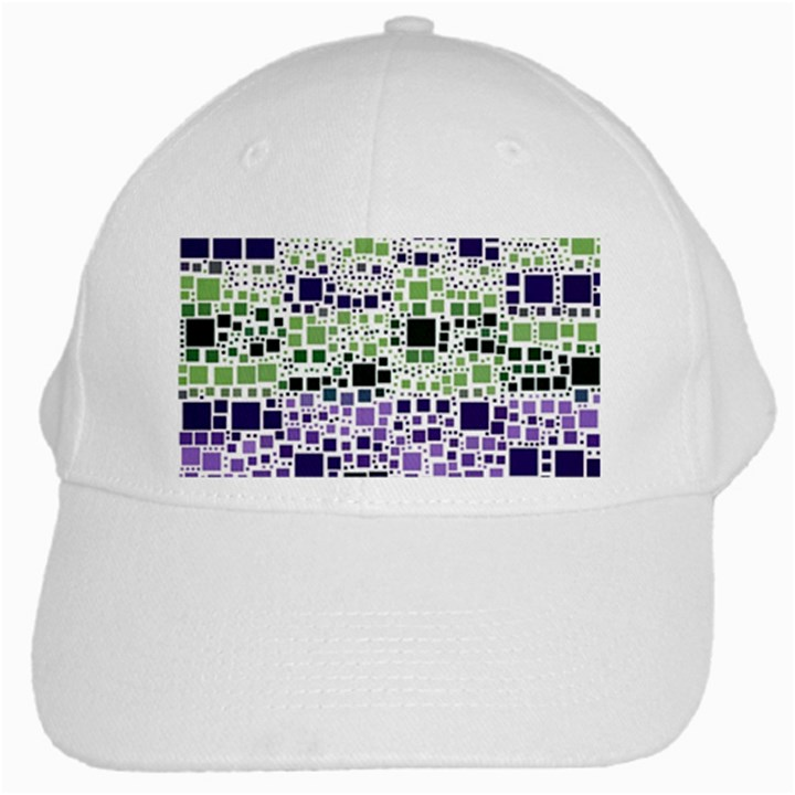 Block On Block, Purple White Cap
