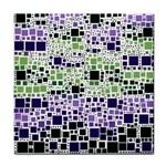 Block On Block, Purple Tile Coasters