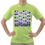 Block On Block, Purple Green T-Shirt Front