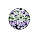 Block On Block, Purple Hat Clip Ball Marker (10 pack) Front